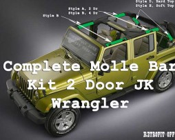 Molle Bar JK 2 Door Kit