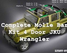 Molle Bar JKU 4 Door Kit