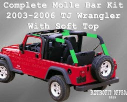 Molle bar kit 2003-2006 TJ ST