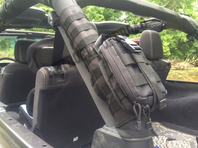 Jeep Molle Roll Bar Sleeve Style D Retrofit Offroad