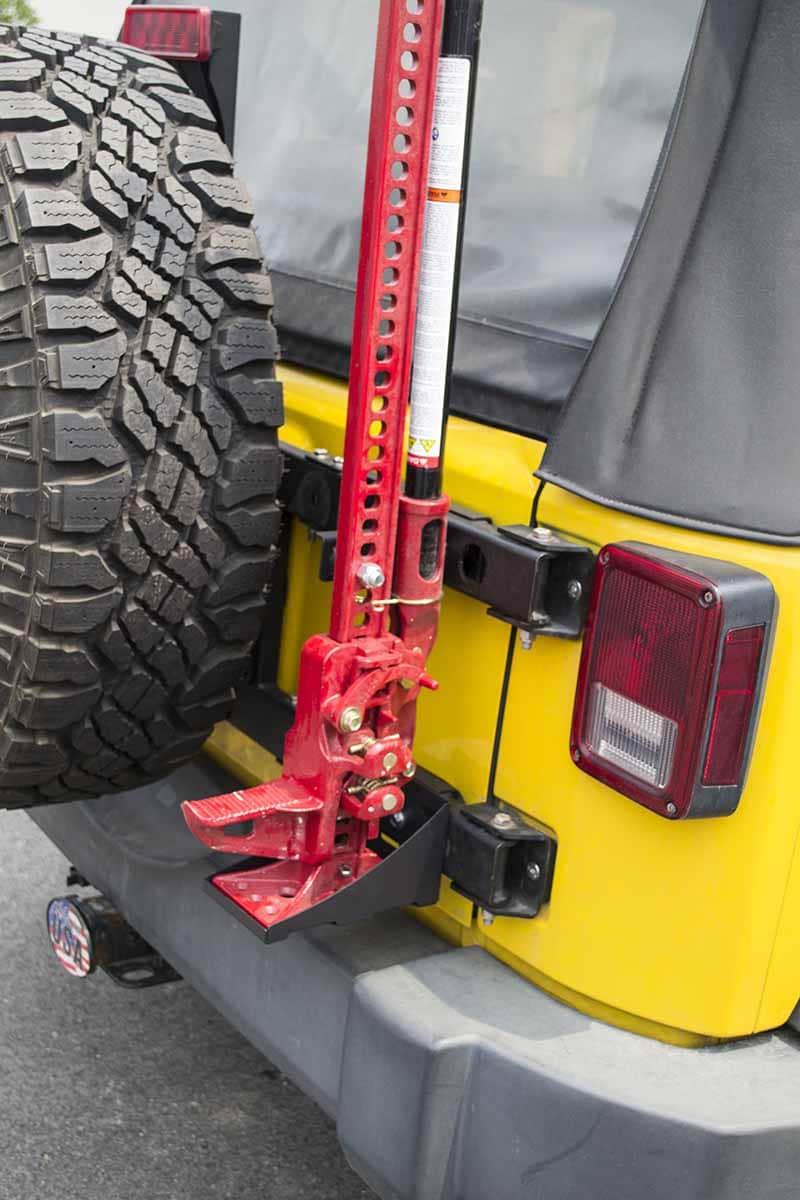 MORryde Jeep JK Hi-Lift Jack Carrier | Retrofit Offroad