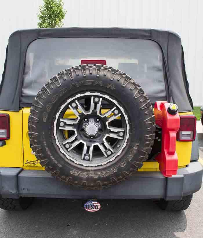 Jeep Wrangler Tailgate Hinge