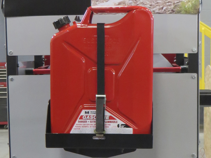 Spare Tire Jerry Can Holder W Tall Tray Jp54 005