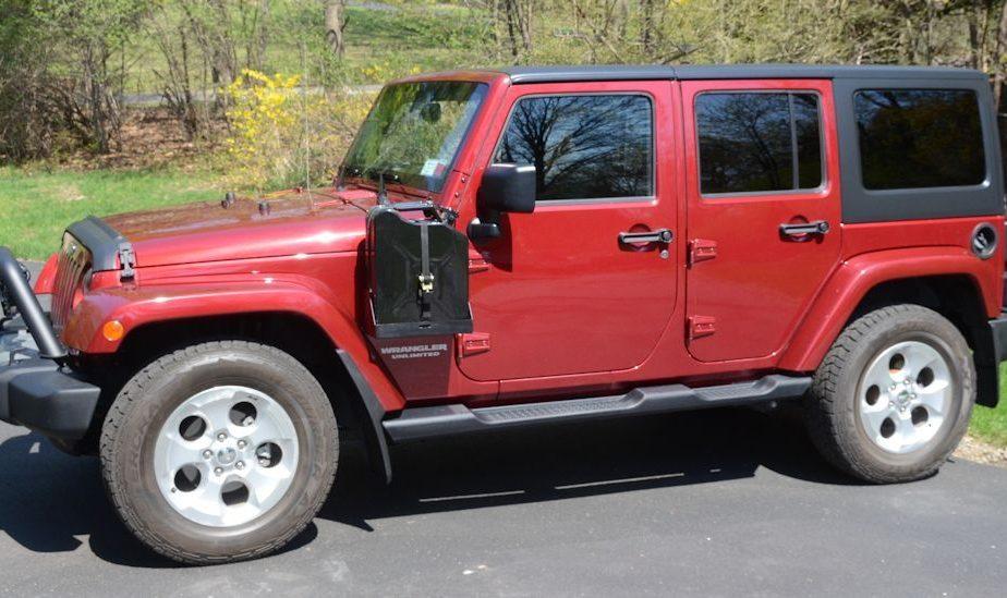 Jeep JK MORryde Side Mount Jerry Can, Driver Side – JP54-018 ...