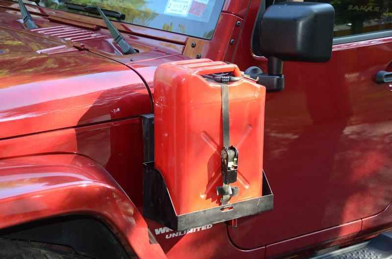 Jeep Jk Morryde Side Mount Jerry Can Driver Side Jp54