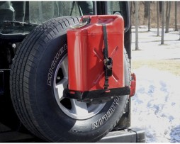 Spare Tire Holder Jerry Can