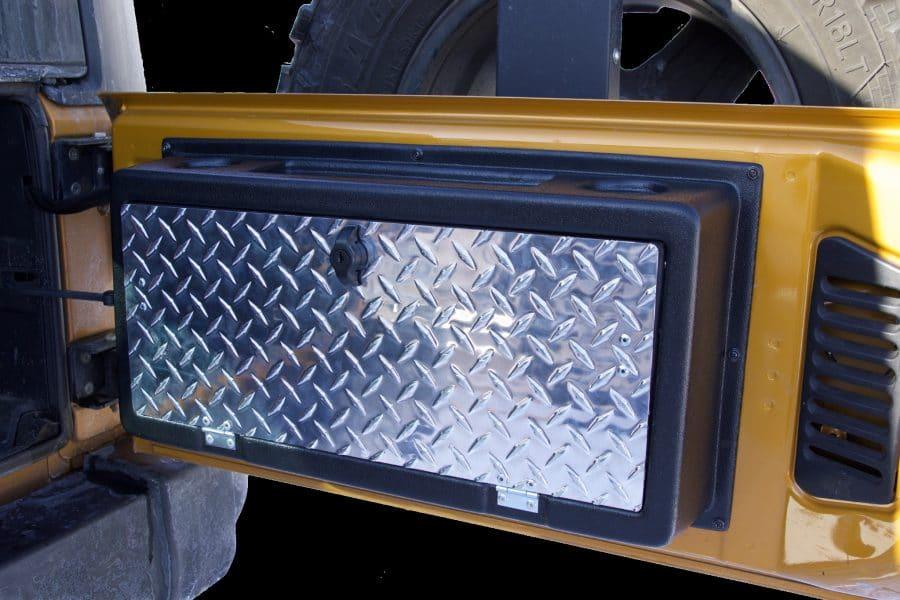 Morryde Jeep Wrangler Jk Storegate Tailgate Storage