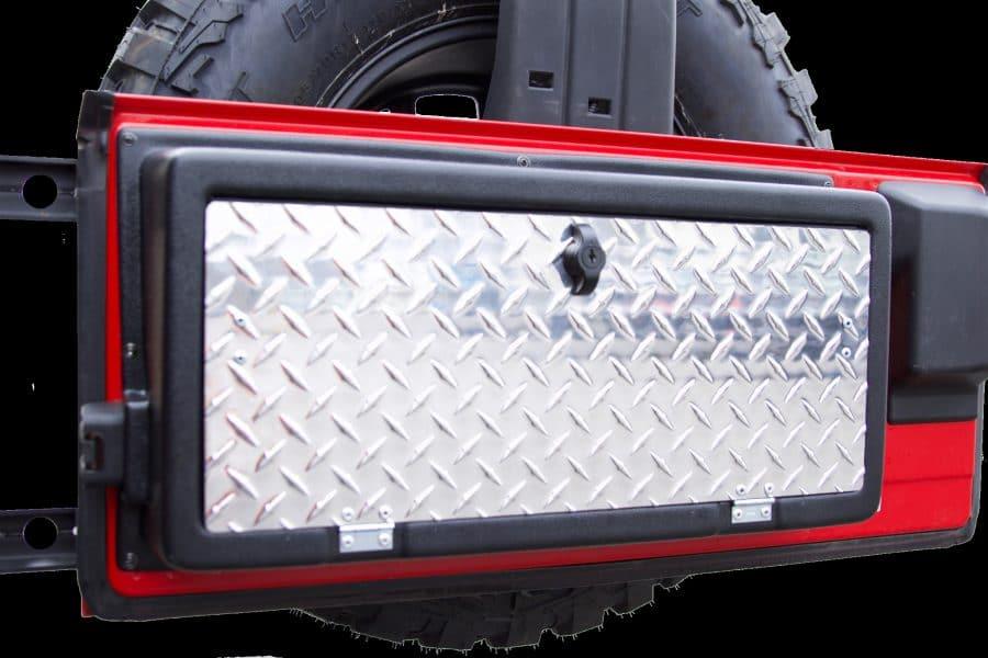 2015 Jeep Wrangler Inside >> MORryde Jeep Wrangler TJ Storegate Tailgate Storage - JP54-028 | Retrofit Offroad