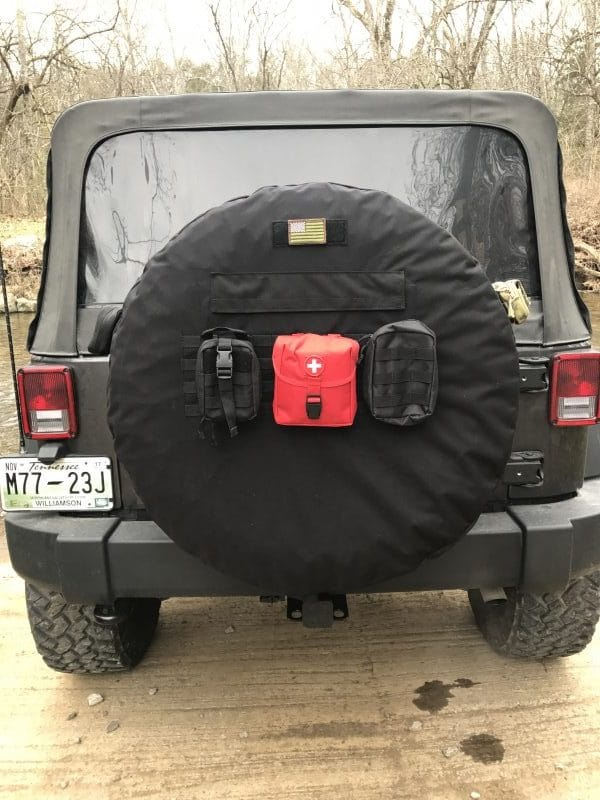 37 Quot Inch Molle Tactical Spare Tire Cover Retrofit Offroad