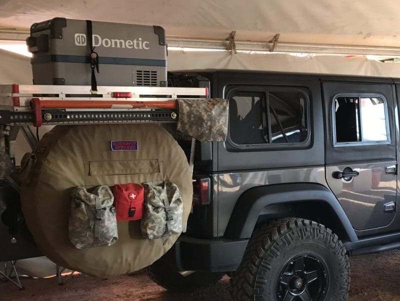 """37"""" INCH MOLLE TACTICAL SPARE TIRE COVER"""