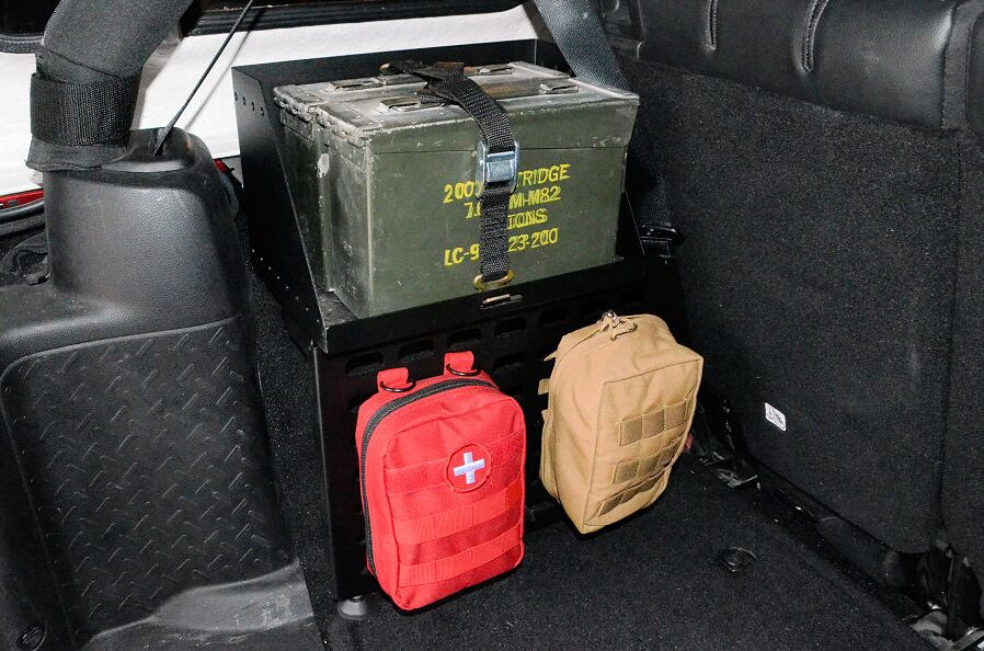 Jeep Jk Ammo Can Carrier Retrofit Offroad