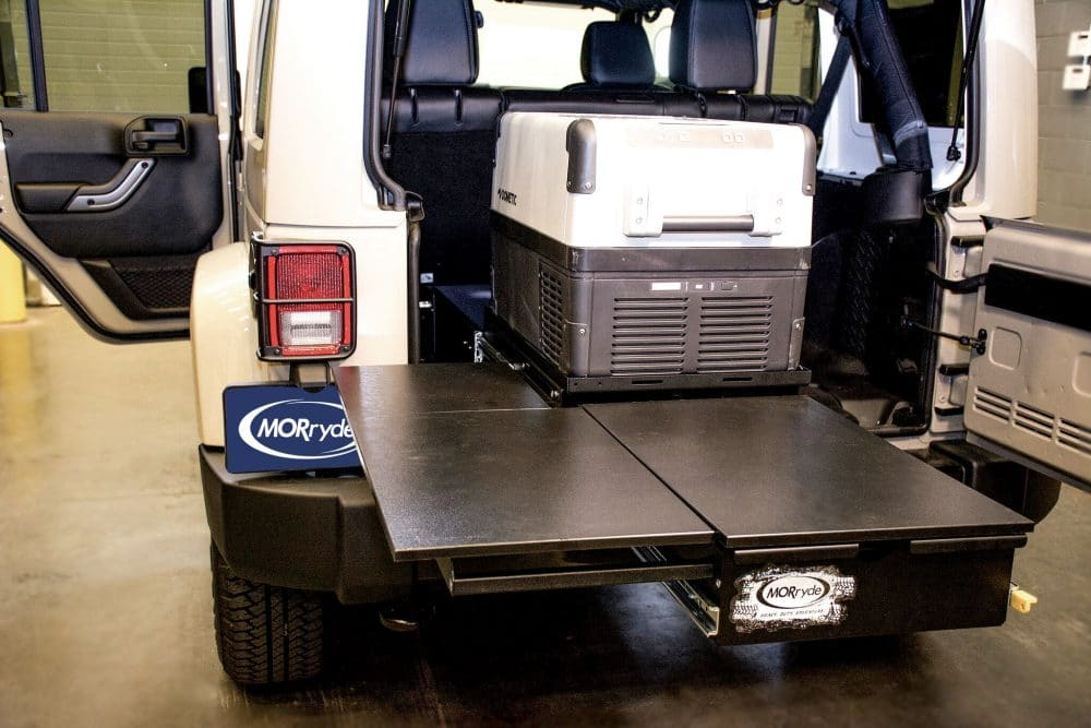 Jeep Trail Kitchen Retrofit Offroad
