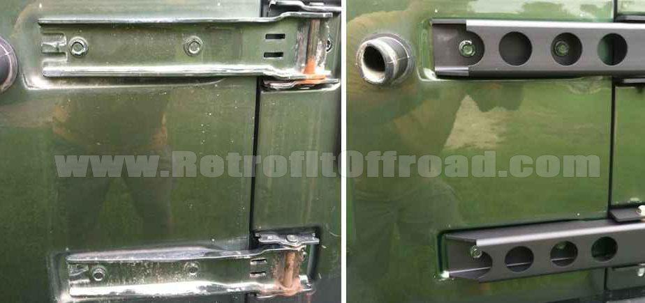 Morryde Jeep Jk Wrangler Tailgate Hinges Retrofit Offroad