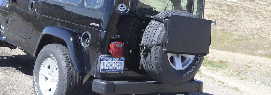 Jeep Excursion Rack Spare Tire Mount Retrofit Offroad