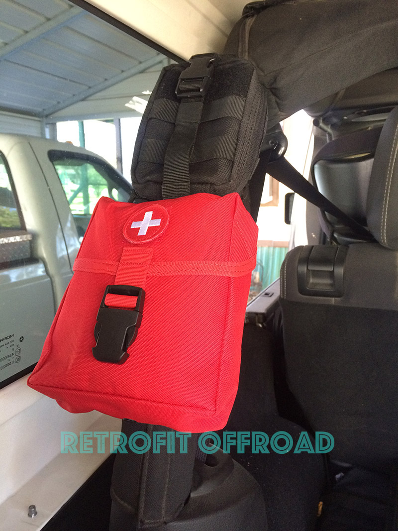 jeep elite first aid new platoon kit | retrofit offroad