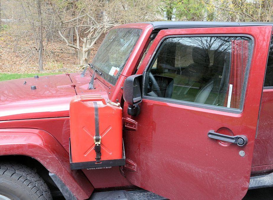 Jeep Jk Morryde Side Mount Jerry Can Driver Side Jp54
