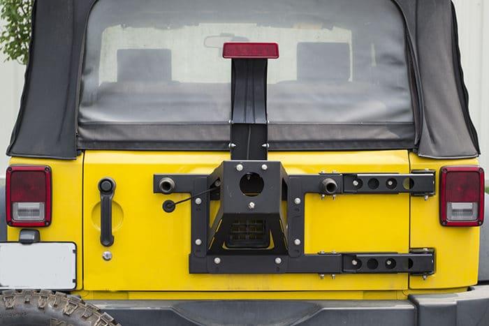 MOR//ryde JP54017 Spare Tire Carrier