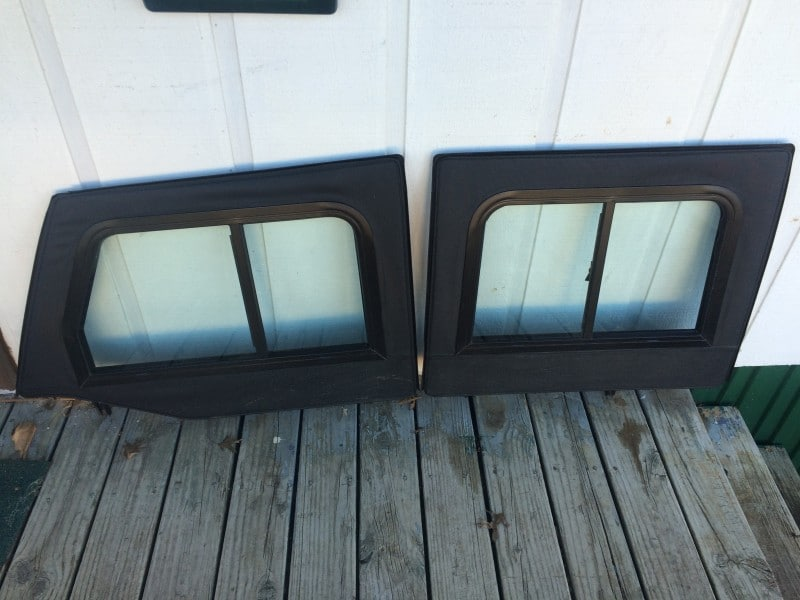 Soft Retrofit Half Door Slider Kit Jeep Jku 4 Door Clear