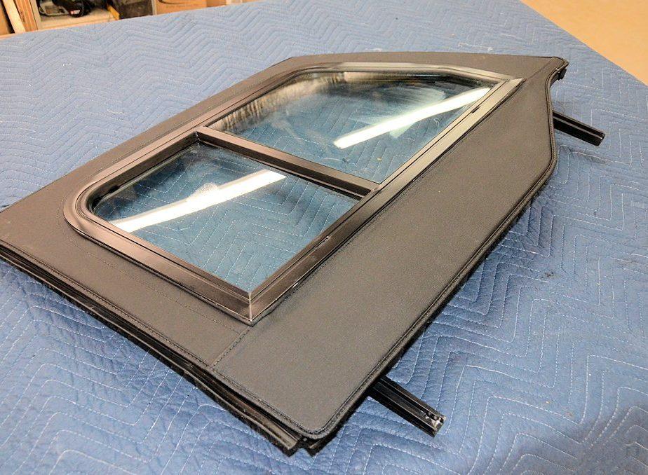 Soft Retrofit Half Door Slider Kit Jeep Jku 4 Door Clear