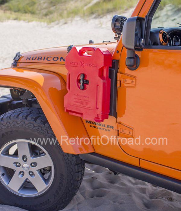 Jeep Wrangler Jk Side Rotopax Mount Driver Side Jp54