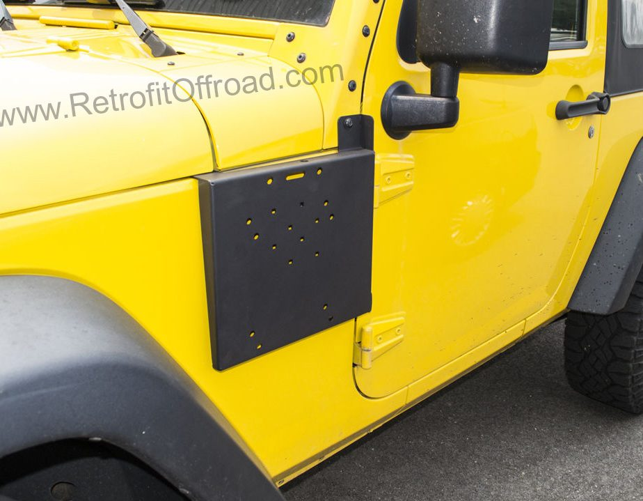 2015 Jeep Wrangler Inside >> Jeep Wrangler JK Side Rotopax Mount, Driver Side – JP54-013 | Retrofit Offroad
