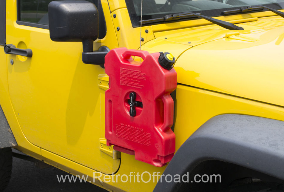 Jeep Wrangler Jk Side Rotopax Mount Passenger Side Jp54