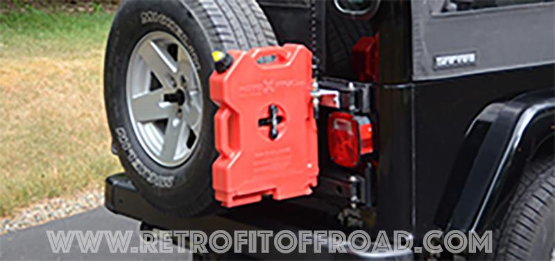 Jeep Wrangler Tj Rotopax Hinge Mount Jp54 023 Retrofit